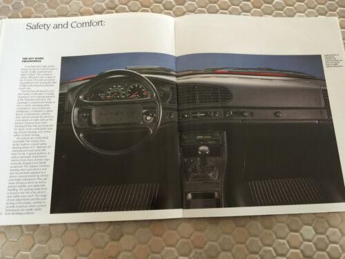 PORSCHE 944 COUPE PRESTIGE /& FULL LINE SHOWROOM SALES BROCHURE SET 1985.5 USA