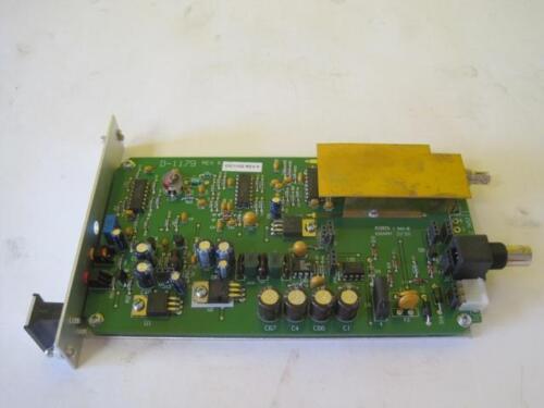IFS INTERNATIONAL FIBER SYSTEM VR4030 FM VIDEO RECEIVER  D-1179 REV K25.352.3453