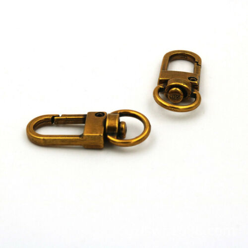 10PCS Metal Lobster Claw Clasp Swivel Buckles Hooks For Bag Keychain//Key Ring