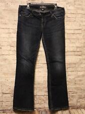 "Silver Tuesday 16 1/2"" Jeans Women's Size 34 / 31 Big Stitch Blue Denim"