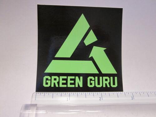 "3/"" GREEN GURU Recycle Road MTB  Bike Frame Bicycle DECAL STICKER Free Shipping"