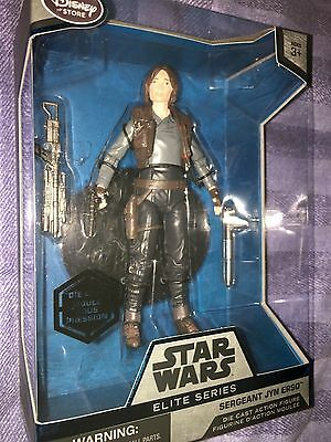 Star Wars Rogue uno Elite Serie sargento Jyn Observatorio Die-cast Figure Set
