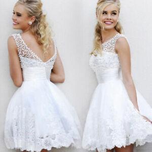 Brautkleid-Hochzeitskleid-Braut-Standesamt-Kleid-B-BC282W-44-weiss