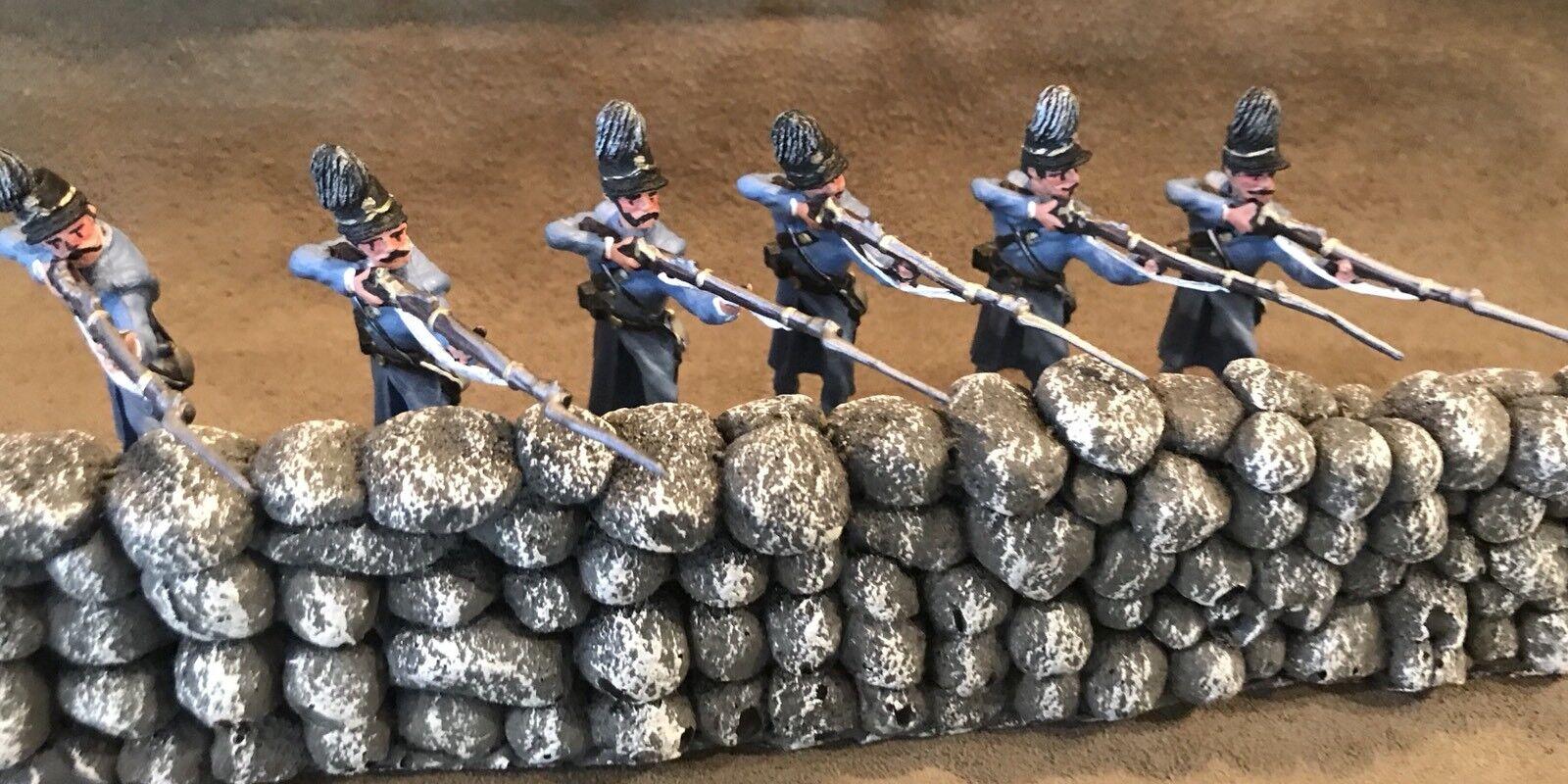 Union probanden mit mit mit shakos, feuer,   10, reihe 6, 54mm skala metall d82bb9