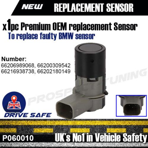 Nuevo Sensor de aparcamiento PDC para BMW E46 E39 E60 E63 E38 E65 X3 X5 66206989068 Reino Unido