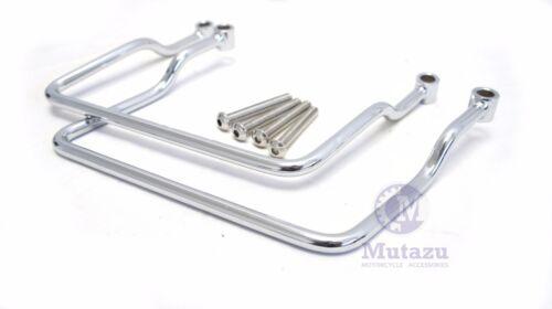 Mutazu Soft Saddlebag supports brackets Kawasaki Vulcan VN1500 1500 Classic 96