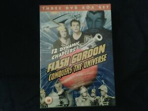 Flash gordon conquers the universe dvd new sealed