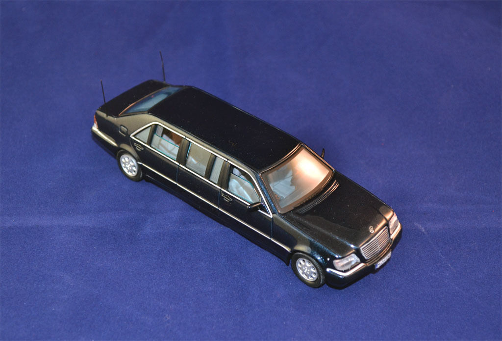 1 43 1997 MERCEDES-BENZ S600L PULLMAN - VITESSE 1 43 - MADE IN PORTUGAL