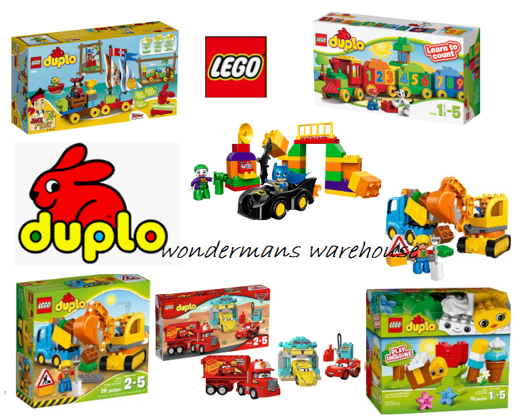 Lego Duplo Construction Play Sets - Cars Batman & More - Brand New & Boxed