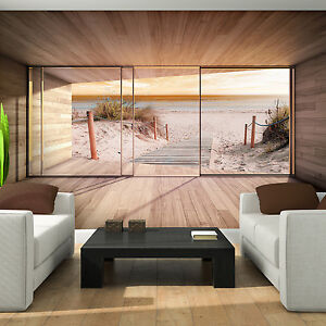 fototapete bild poster foto tapete natur ausblick meer strand sand 3fx3290p4. Black Bedroom Furniture Sets. Home Design Ideas