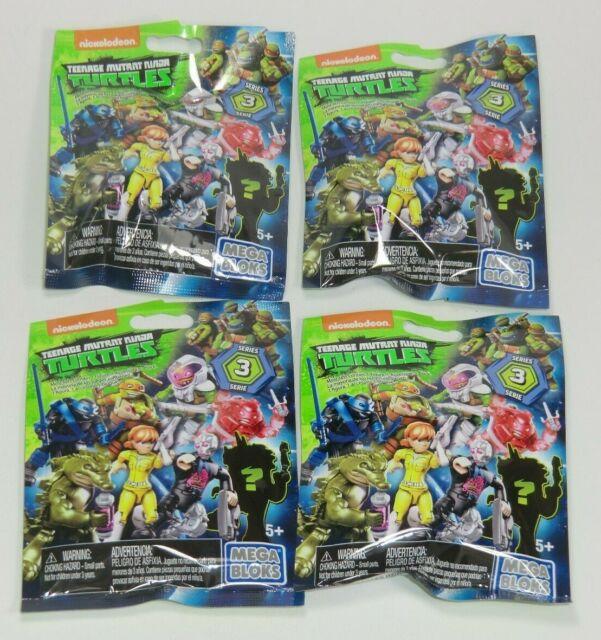 MEGA BLOKS Ninja Turtles Sammelfiguren  12 Tüten