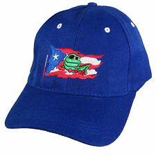 1331e13ed01a6 item 8 Puerto Rico Flag Baseball Cap Hat Coqui Island Embroidered Blue  Black Red White -Puerto Rico Flag Baseball Cap Hat Coqui Island Embroidered  Blue ...