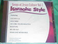 Songs of Jesus Culture ~ Christian ~Daywind ~Karaoke Style ~~ God With Us ~ CD+G
