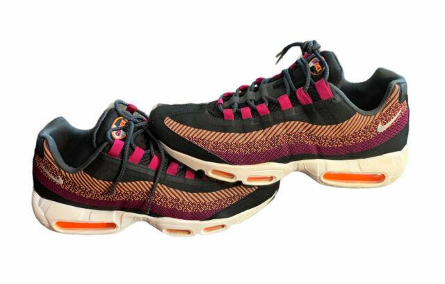 Size 10.5 - Nike Air Max 95 JCRD Total Orange for sale online | eBay