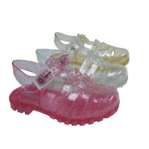 7d86a3c9b Détails sur Filles/Enfants Rétro Gelée Chaussures/Sandales/Plage  Chaussures- afficher le titre d'origine