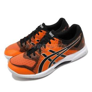 Asics-Gel-Rocket-9-Orange-Black-White-Men-Volleyball-Badminton-Shoe-1071A030-601