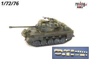 1-72-US-M18-GMC-Hellcat-tank-militaire-modele-a-l-039-echelle-arrimage-Accessoires-Kit