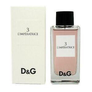 Dolce&Gabbana 3 L'IMPERATRICE Eau de Toilette per Donne 100ml