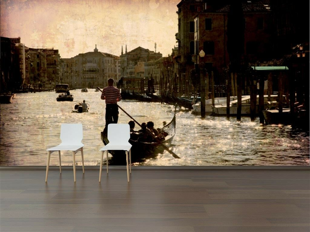 3D Venice Water City 7 Wall Paper Murals Wall Print Wall Wallpaper Mural AU Kyra