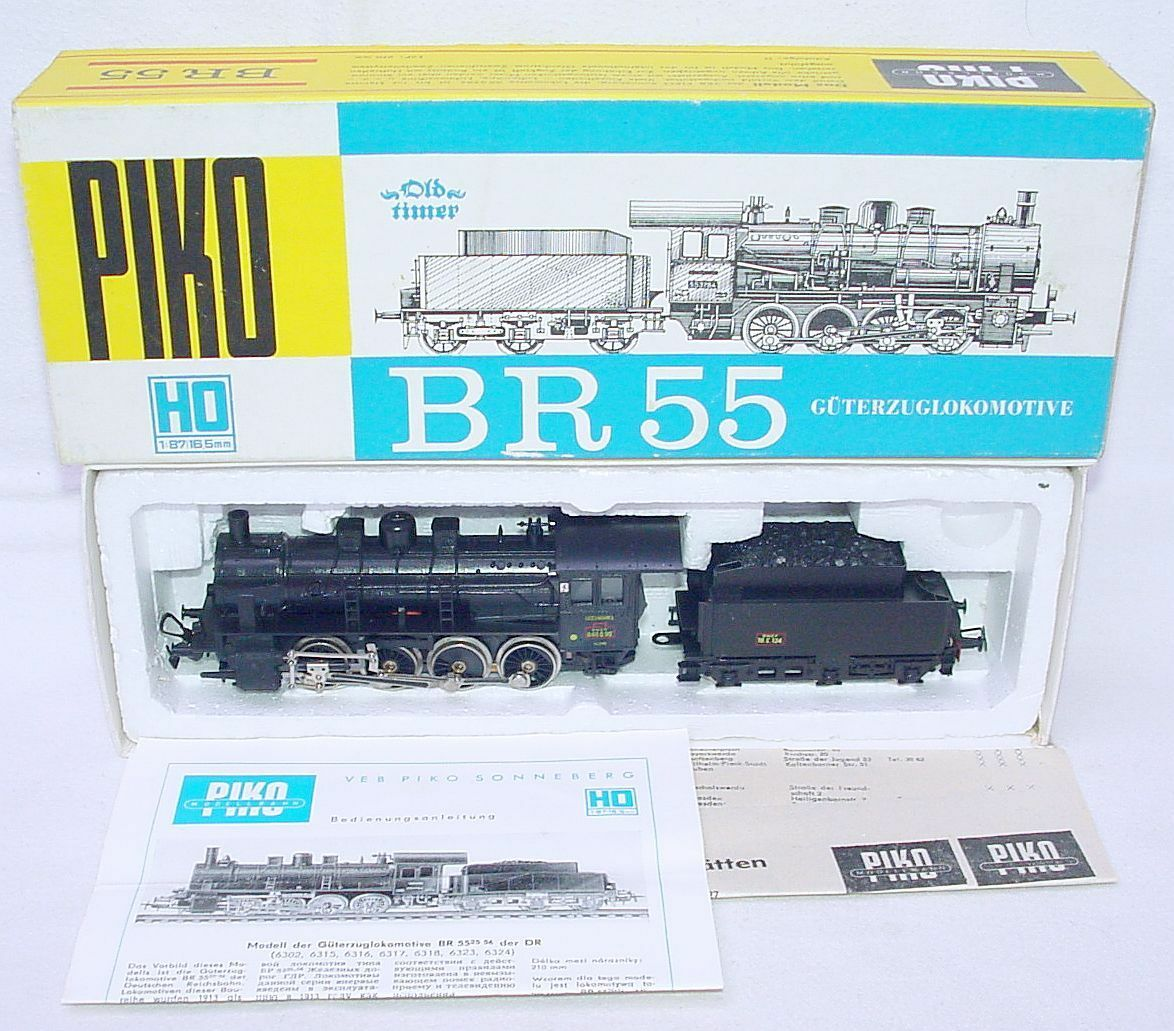 Piko HO 1:87 French SNCF BR-55 STEAM  LADELIFRANCE  LOCOMOTIVE MIB`78 VERY RARE