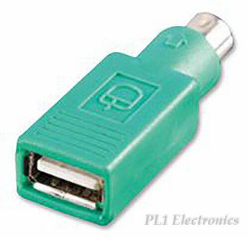 PS//2 Plug-USB a Jack Grn Multicomp 12.99.1072 Mouse Adattatore