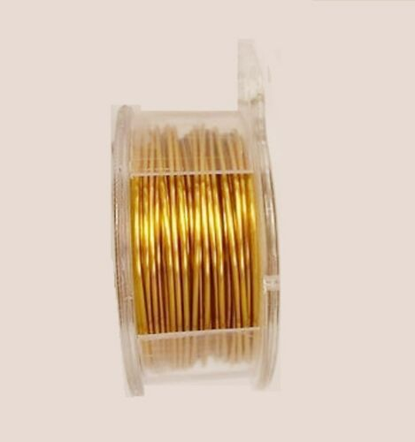 PRO-QUALITY CRAFT WIRE BRONZE NON TARNISH 18GA WIRE  12FT