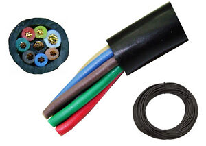 50\' High Quality 8 Conductor Rotor Wire - Antenna Rotator Cable ...
