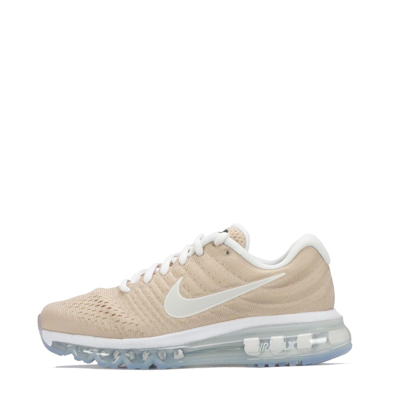 Nike Air Max 2017 Women's Running Trainers Bio Beige/White