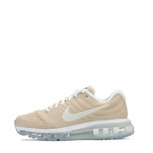Nouveaux produits 7f0d4 12861 Details about Nike Air Max 2017 Women's Running Trainers Shoes Bio  Beige/White
