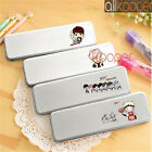 KPOP BTS Wings Metal Pencil Box Bangtan Boys Pen Study Stationary Case Suga V