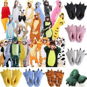 Unisex-Kids-Adults-Animal-Kigurumi-Pajamas-Cosplay-Sleepwear-Costumes-Jumpsuit