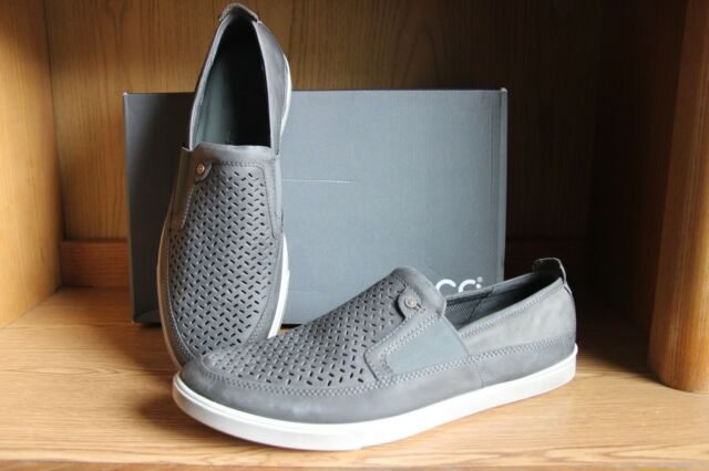 ECCO Collin Preforated Grey Shoe Men