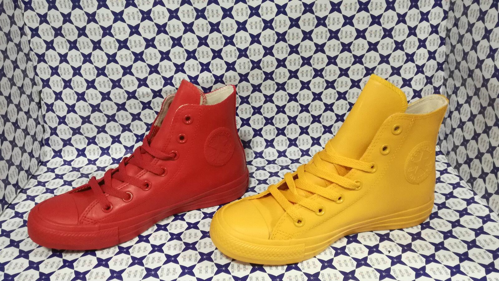 Zapatos  Converse All Star Hi Giallo Rubber Gomma  144747C Giallo Hi / 144744C Rosso f881f9