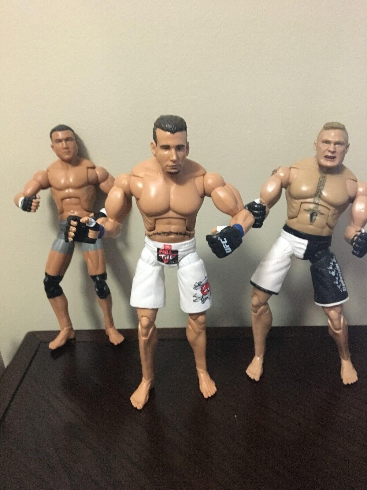 UFC Jakks Figure lot MMA Ultimate Fighting Fighting Fighting Fighter 2009 cdcfff