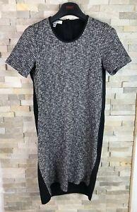 Lk-Bennett-Ladies-Size-10-Tweed-Effect-Dr-Gallium-Wool-Blend-Dress