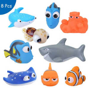 Soft Baby Bath Tub Toys Kids Bathing Bathtub Swimming Children Floating Animals