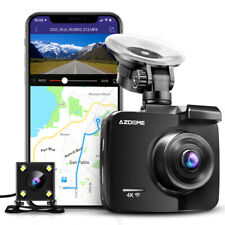 AZDOME GS63H 4K Front and Rear Dash Cam with WiFi & GPS Night Vision Car DVR