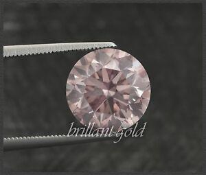 Diamant-mit-GIA-Zertifikat-0-23-ct-in-seltener-Farbe-pink-Brillant-unbehandelt