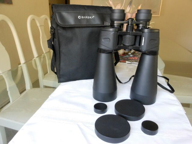 BARSKA 12-36x70 Zoom Binoculars w/ Caps and Case