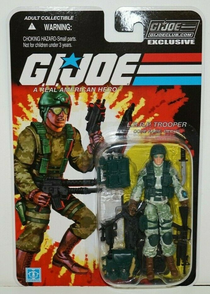 GI JOE COBRA COLLECTORS Verein EXCLUSIVE FSS 8-07 RECOIL L MOC