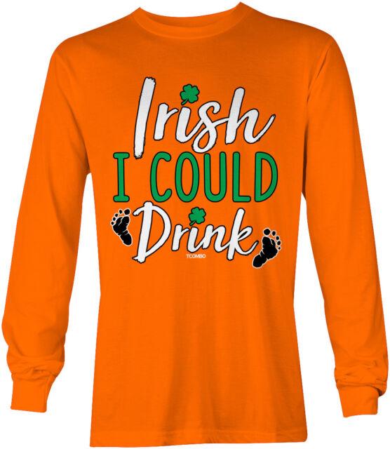 Cheers F#ckers St Patricks Day Beer Pub Crawl Pint Shamrock Mens T-Shirt