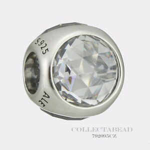 078b4b5ad Image is loading Authentic-Pandora-Silver-Clear-CZ-Radiant-Droplet-Bead-