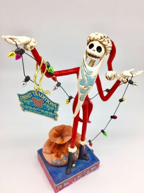 santa jack nightmare before christmas jim shore disney traditions figurine
