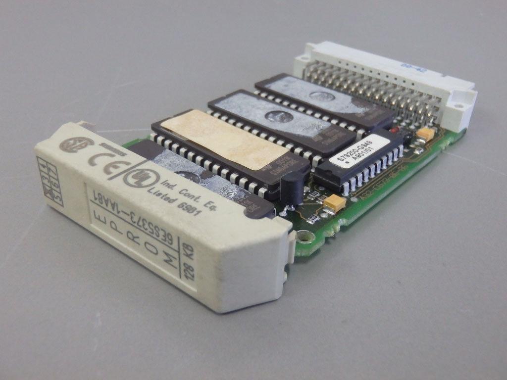 6ES53731AA81     - SIEMENS -     6ES5373-1AA81       Memory submodule 128K USED