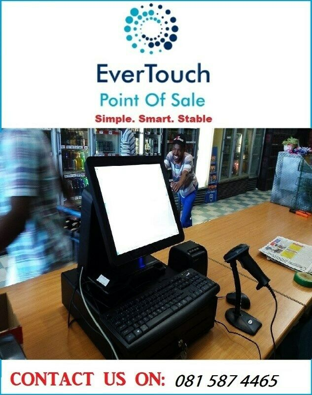 Touch point of sale systems/ cash register systems on PROMOTION.