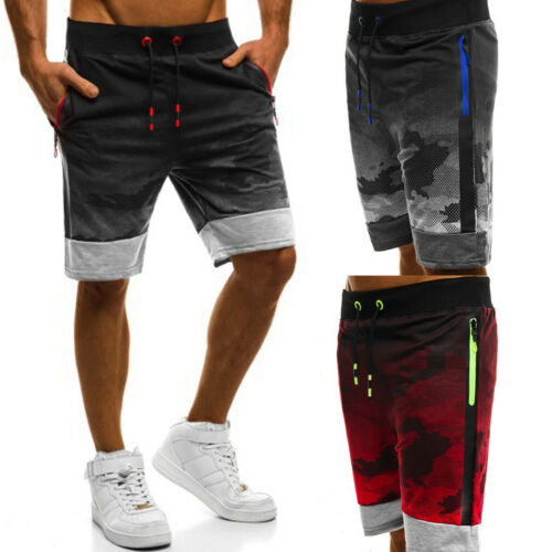 Men/'s GYM Shorts Training Running Sport Workout Casual Jogging Pants Trousers