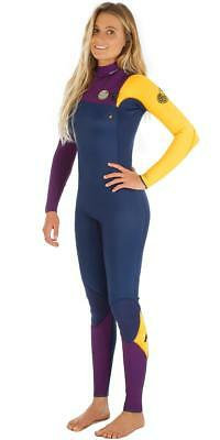 e7c345ae96 Rip Curl Womens G BOMB 3/2 mm ZIP FREE Steamer Wetsuit New - WSM5HG Yellow  | eBay