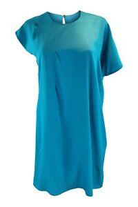 MAISON-MARTIN-MARGIELA-2014-Blue-Asymmetric-Shift-Dress-IT-38