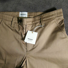 New w/ Tags NORSE PROJECTS Men's Kautokeino Chinos Tan Beige Pants Size 32 $250