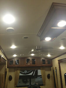 4 5 led rv celing light recessed interior camper light 480
